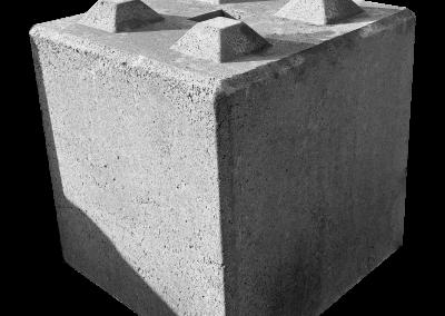 bloki betonowe mury oporowe